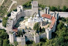 Monastery Manasija, Serbia