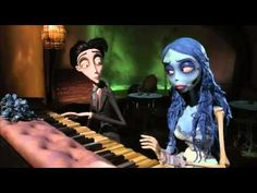 Corpse Bride Piano, Emily Corpse Bride, Tim Burton Corpse Bride, Tim Burton Art, Tim Burton Films, Kubo And The Two Strings, Young Johnny Depp, Johny Depp, Iconic Movies