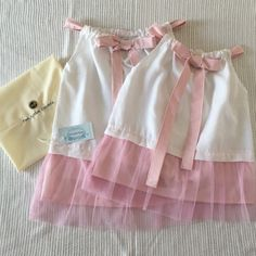 Matching dresses for your cuties girls!