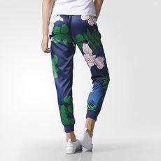 adidas - Floral Engraving Track Pants