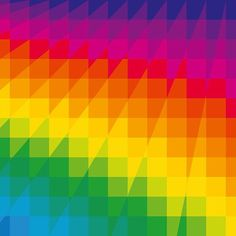 Squares - Dennis Smit. #opart #opticalart #geometric #abstractart #art #color #spectrum