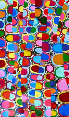 Colourful Aboriginal ART BY Sally Clark