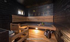 Sauna Design, Home And Living, Sweet Home, Architecture, Saunas, Furniture, Bathrooms, Home Decor, Arquitetura