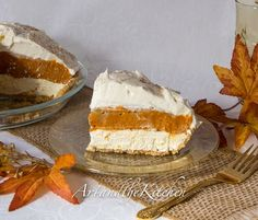 No Bake Triple Layer Pumpkin Pudding: will use powdered sugar with cream cheese in future...