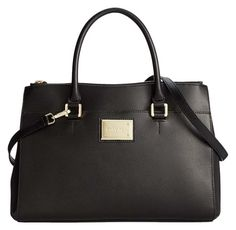 Calvin Klein Structured Leather Top Handle Black Satchel Bag Purse For Women. Save big on the Calvin Klein Structured Leather Top Handle Black Satchel! This satchel is a top 10 member favorite on Tradesy. #Women's #Designer #Fashion #Trend #Trends #Style #Handle #Boss #Bag #Bags #Purse #Purses #Handbag #Handbags #Large #Extra #Black #Structured #Crossbody #Work #Leather #Organized #BlackBag #LargePurse #BlackPurse #BossPurse #BossBag #LeatherPurse #LeatherBag #TopHandle
