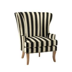 Thurston Wing Chair with Antique Brass Nailheads Chair And Ottoman, Upholstered Chairs, Wingback Chair, Outdoor Chairs, Dining Chairs, Dining Area, Wing Chair, Sunbrella Fabric, Oak Cabinets