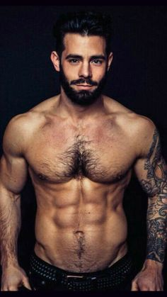 Just another gay guy with a thing for scruffy, furry, hairy, hunky men. Hot Men, Awesome Beards, Bear Men, Raining Men, Moustaches, Hairy Chest, Shirtless Men, Guy Pictures, Male Physique