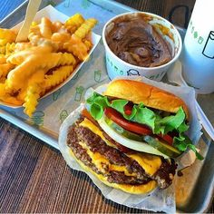 Pin for Later: 50 States of Burgers: Consider This Your Bucket List New York: Shake Shack The Restaurant: Shake Shack The Burger to Order:Shackburger (burger topped with cheddar, lettuce, tomato, and secret sauce on a potato bun)