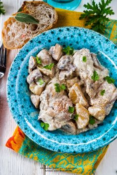 Apron and Sneakers - Cooking & Traveling in Italy and Beyond: Slow Cooker Chicken, Potatoes & Mushrooms