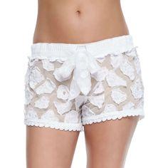 Contemporary Fashion Trends at Neiman Marcus Cotton Shorts, Lace Shorts, White Shorts, Crochet Cover Up, Low Rise Shorts, Crochet Shorts, 34c, Swimsuits, Swimwear