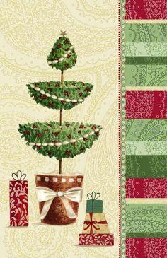 Nicola Rabbett - Christmas topiary tree in forest.jpg
