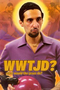 The Big Lebowski - WWTJD Poster