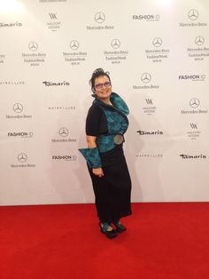 Marion at Fashion Week Berlin