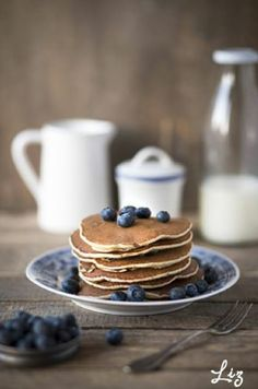 Chia-Pancakes with Blueberries by Liz for Liz & Jewels – http://www.lizandjewels.com/mein-erstes-mal-chia/