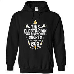 Electrician tee and hoodie T Shirt, Hoodie, Sweatshirts - custom t shirt #shirt #teeshirt