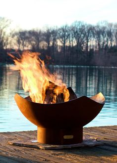 Manta Ray Artisan Outdoor Fire Pit