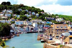 The UK's prettiest small towns and villages revealed Looe Cornwall, Cornwall England, Yorkshire England, Yorkshire Dales, England Uk, London England, Castles In England, Oxford England, England And Scotland