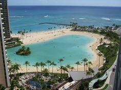 Hilton Hawaiian Village lagoon - one of our hotels