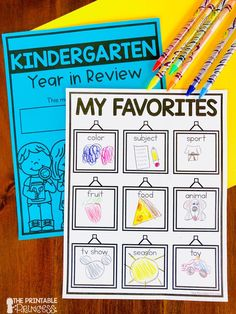 Perfect for the end of the year, this memory book was designed specifically for Pre-K, Kindergrten, and first grade students. The pages are kid-friendly with large spaces for drawing and larger dotted lines for writing. With over 50 pages to choose from you'll find lots of options for themes and differentiation.