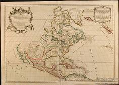old maps north america - vintagemaps.com
