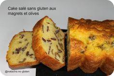 Le cake salé sans gluten est idéal en apéritif avec des légumes à la croque.