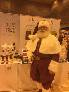 Santa pays a visit at Christmas Fair for Edinburgh Sick Kids Hospital