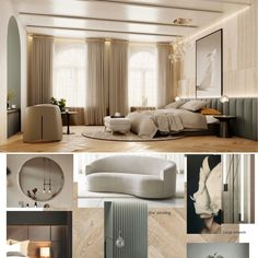 Luxury comes from space,workmanship,detailing & lighting.