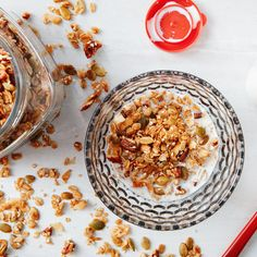 Granola! So easy! And all it requires is that you remember one tiny equation.