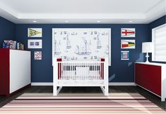 BOY ROOMS COLOR pallettes   Nothing says the ocean quite like nautical-themed decor. We spoke with ...