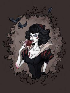Snow White Portrait by IrenHorrors on DeviantArt