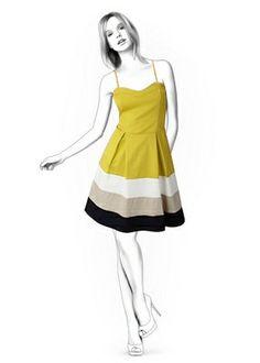 Benutzerdefinierte Größe Schnittmuster für ein elegantes Kleid. Größen: Damen-Größen. - - - - - - - - - - - - - - - - - - - - - - - - - - - - - - - -