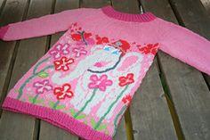 Elfie Tunika- genser pattern by Kari Haugen