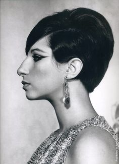 Barbra Streisand (photo by Philippe Halsman)