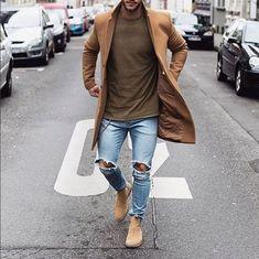 チェスターコートに、皆さんはどのようなパンツを合わせて、コーディネートをしますか?今回は、こなれ感を演出する着こなしとして、「ライトカラーデニム」を組み合わせたスタイリングをご紹介していきたいと思います。おしゃれ好きの方にはたまらない着こなしですよ!