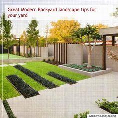 modern Landscaping Design, Low Maintenance modern Landscaping, modern Landscaping Pictures