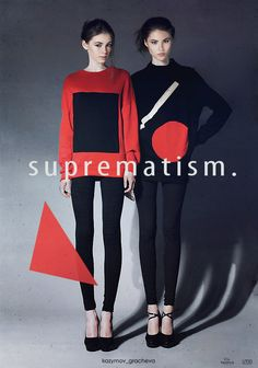 fashion suprematism