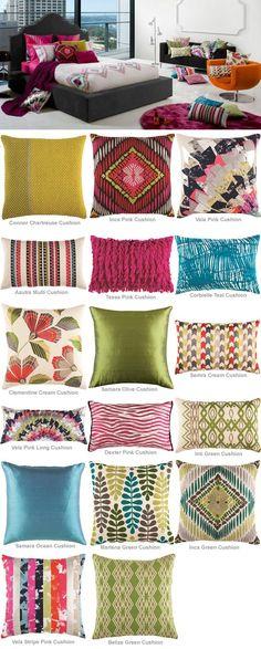 Inca by Kas  cushions