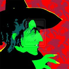 Wicked Witch of the West by ~kimdellorens on deviantART