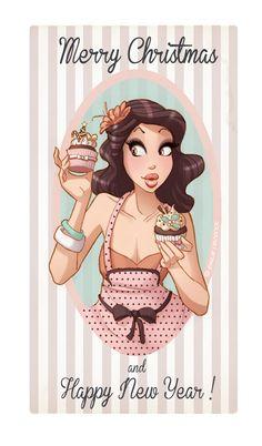Emilie Decrock es una ilustradora francesa con un bellisimo y femenino estilo.  http://emiliedecrock.net/