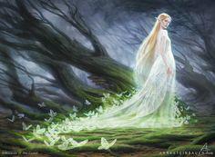 MtG Elvish Spirit Guide, Anna Steinbauer on ArtStation at https://www.artstation.com/artwork/qXw1D