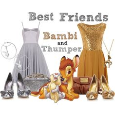 """""""Bambi & Thumper--Best Friends"""" by audreyk1227 on Polyvore"""