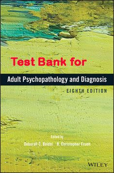 35 best test bank for human physiology from cells to systems 3rd test bank for adult psychopathology and diagnosis 8th edition product details by deborah c beidel editor b christopher frueh editor publisher fandeluxe Image collections