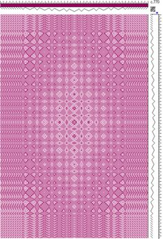 Draft for Fancy Lace Spot Weave Variation