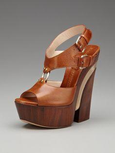 Casadei High Heel Platform Ring Sandal