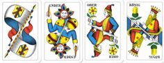 I just like the Swiss Jass cards so much better than the standard playing cards.