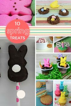 spring themed treats rock and drool Lunch Recipes, Appetizer Recipes, Dessert Recipes, Desserts, Simply Recipes, Great Recipes, Spring Treats, Bunny, Kids Rugs
