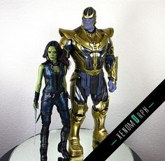 1/6 Hot Toys - MMS280 - Guardians of the Galaxy: Thanos Collectible Figure - Page 219