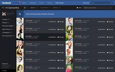 Facebook – New Design and Concept by Fred Nerby