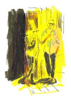 Damien Florébert Cuypers Illustrations, Illustration Sketches, Illustration Artists, Painting Inspiration, Art Inspo, High Art, Art Studios, Love Art, Painting & Drawing