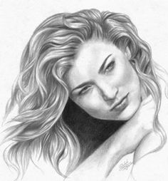 how to draw realistic curly hair video